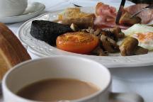 Full Scottish breakfast.
