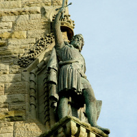 Statue of Scottish freedom fighter William Wallace (of Braveheart fame)