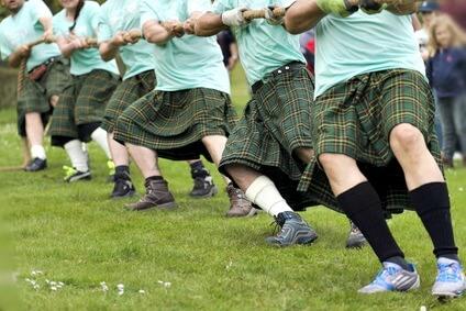 Scottish Highland Games, Tug 'O War.