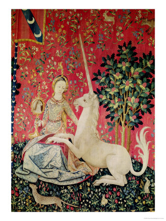 The Lady & The Unicorn Poster