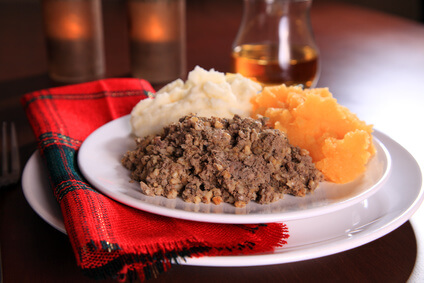 Traditional Burns Supper dish