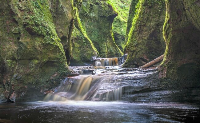 Finnich Glen, Stirlingshire