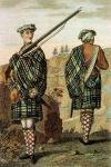 Scottish Highland Soldier Dress circa 1744