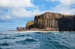 The Remote Isle of Staffa, Scotland