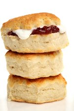 Easy scone recipe. Scottish baking.