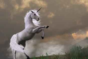 The Unicorn. Scotland's National Animal
